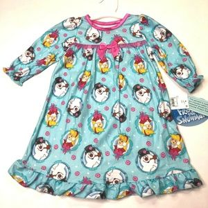 Frosty the Snowman Nightgown SIZE 12 MO (F731)